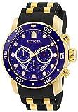 Invicta Reloj Cronógrafo para Hombre de Cuarzo con Correa en Plástico 6983